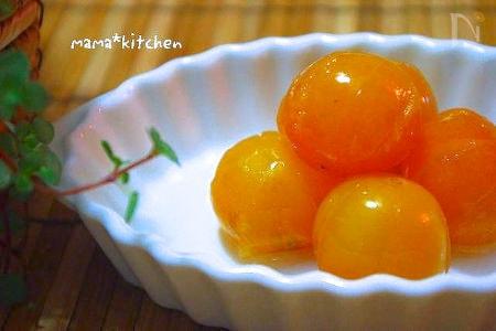 キラキラ♪金柑のシロップ煮