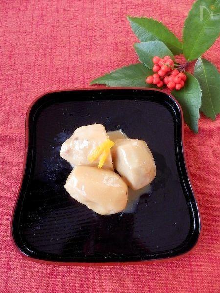 さといもの味噌煮 柚子風味