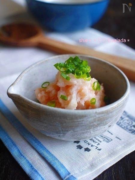 簡単☆長芋でタラモsalada