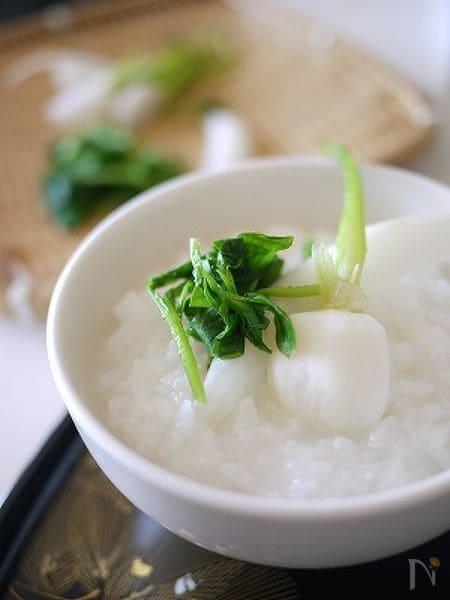トッピング七草粥