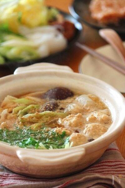 胡麻生姜鍋。