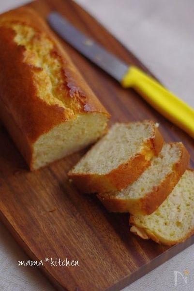 バター不使用 もっちり酒粕ケーキ