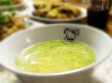 ふわふわたまごのスープ