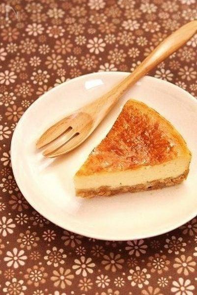簡単*豆乳チーズケーキ