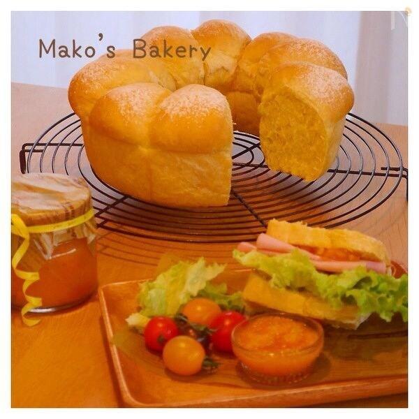春色♪にんじんパン