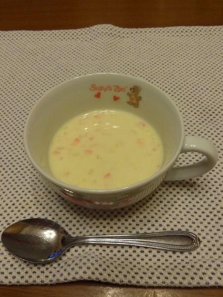 食べるコーンスープ。
