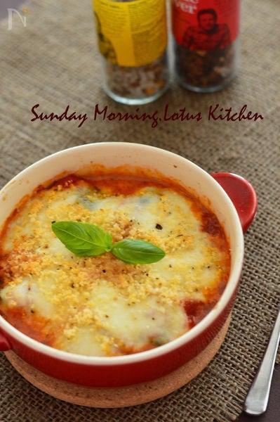 簡単☆茄子のとろーりチーズ焼き