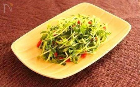 豆苗の上湯(シャンタン)炒め