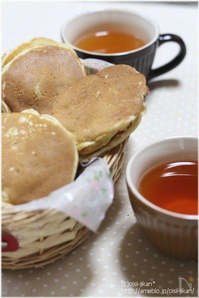 ホットケーキミックスdeどら焼き