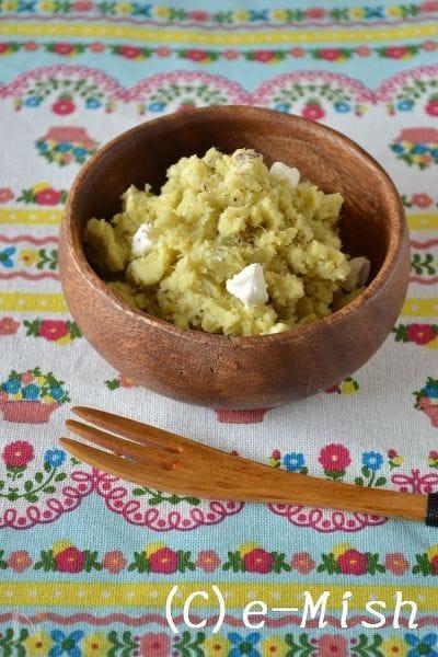 2.さつま芋とクリームチーズのサラダ