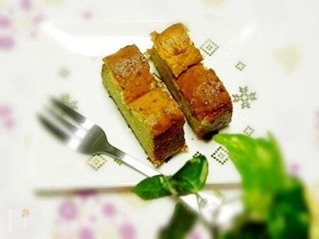 お酒風味のパウンドケーキ