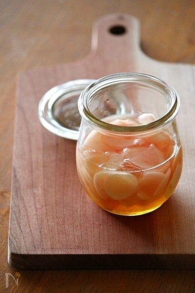新生姜のはちみつピクルス。