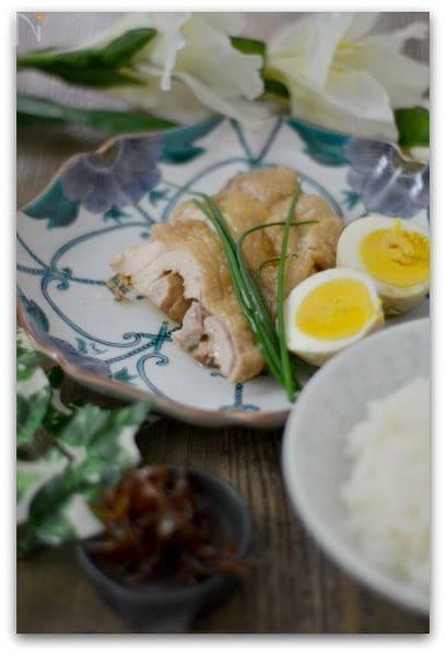 鶏肉のさっぱりメープル煮