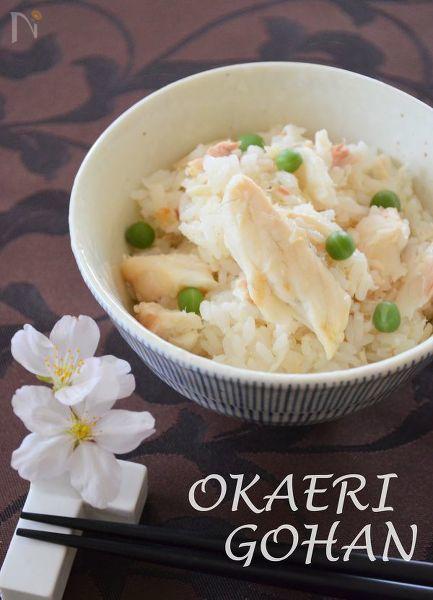 オリーブ香る鯛の混ぜご飯