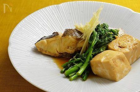 料亭の味、鯛の煮付け
