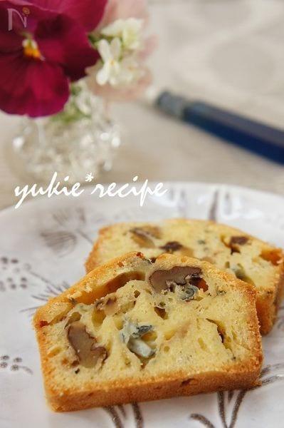 ゴルゴンゾーラのケーキ