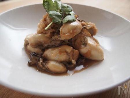 牡蠣のしぐれ煮