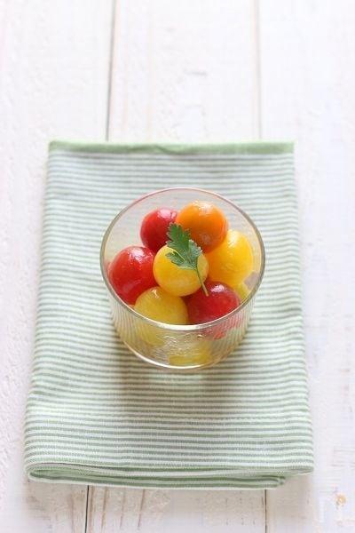 ミニトマトのマリネ