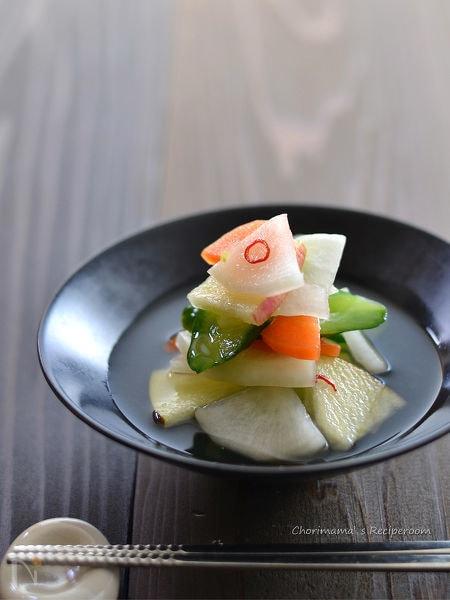ホエー(乳清)で作る水キムチ
