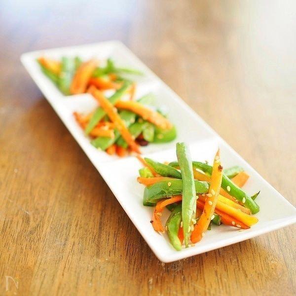 好きな野菜でOK!春野菜のキンピラ