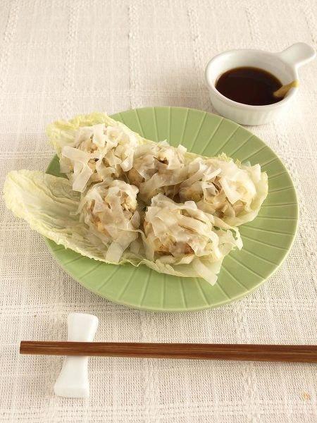 <電子レンジで作る♪>豆腐菊花シュウマイ