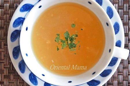 ブレンダーでスピーディー!新玉葱スープ