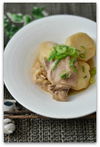 圧力鍋で作る鶏肉と里芋のほっこり煮物