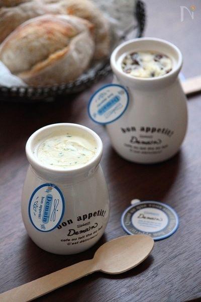 レーズンバター&チーズディップ。