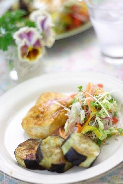 カルシウムと野菜たっぷりのバランスGOOD朝ごはん