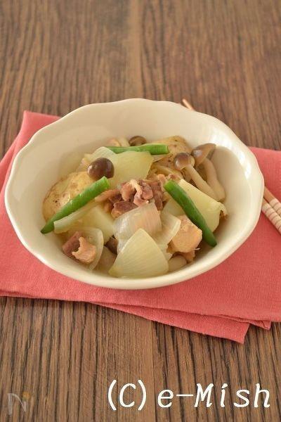 【缶詰レシピ】鶏じゃがゆず胡椒風味