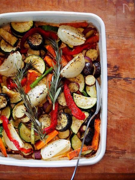 野菜のオーブンベイク