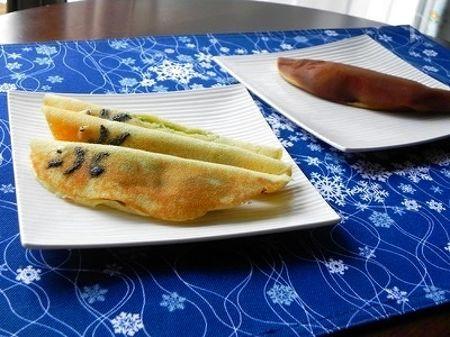 """ホットケーキミックスで作る""""ずんだ餡のあゆがし"""""""