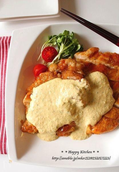 柚子胡椒タルタルソースで!鶏むね肉の柔らかチキン南蛮