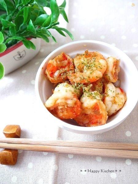 ぷりぷり海老の中華風ピリ辛炒め&オイキムチレシピ