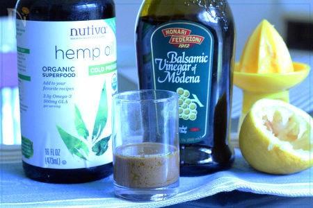 【美ドレッシング】hemp oil dressing
