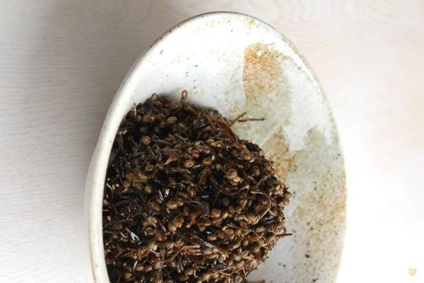 切り昆布と山椒の実の佃煮