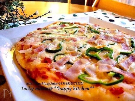 発酵不要のフライパンピザ
