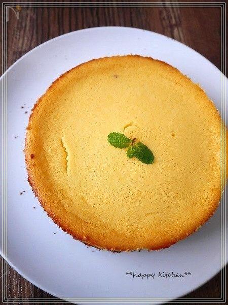 生クリームなしのココアビスケットチーズケーキ