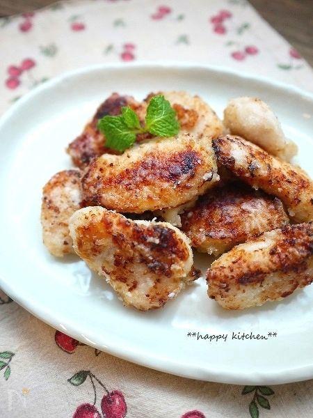 柔らかい!鶏むね肉の昆布茶と塩麹漬け焼き