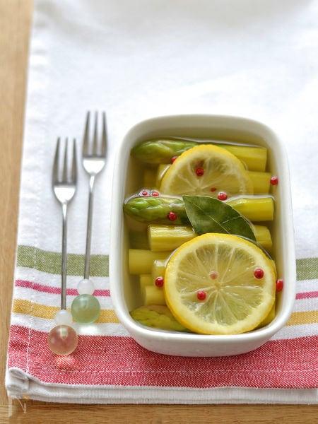アスパラガスのレモンマリネ