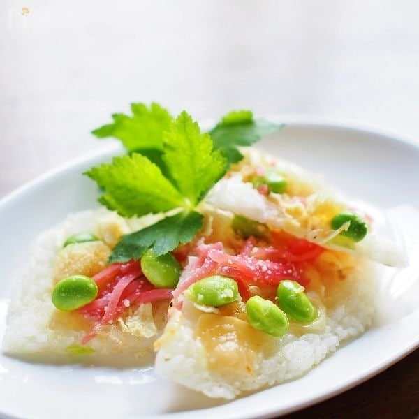 ごはんで和風ピザ~パルミジャーノ・テイスト~