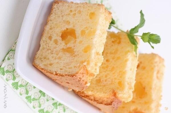 パインチーズケーキのシフォン