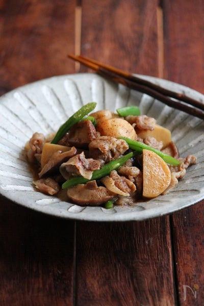 豚と里芋の簡単煮物