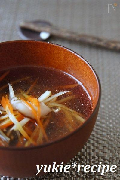 【基本のレシピ】沢煮椀