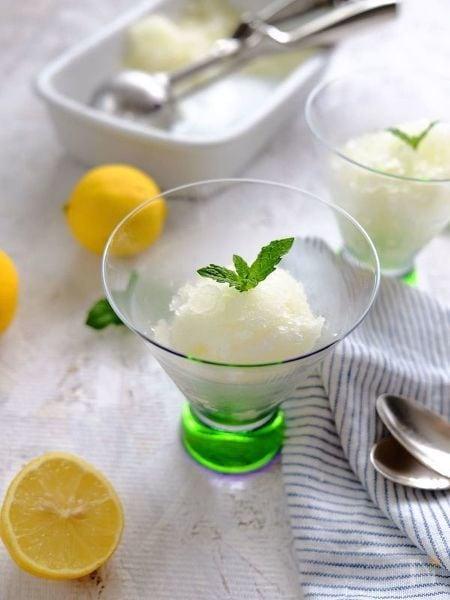 レモンのグラニテ