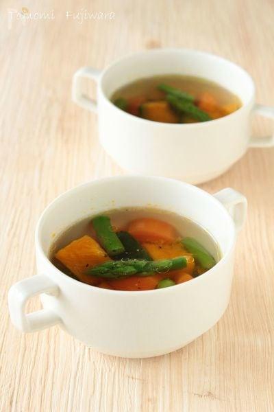 【野菜だしで作る】洋風ビタミンスープ