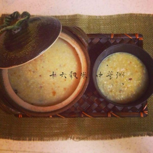 十六穀米 中華粥