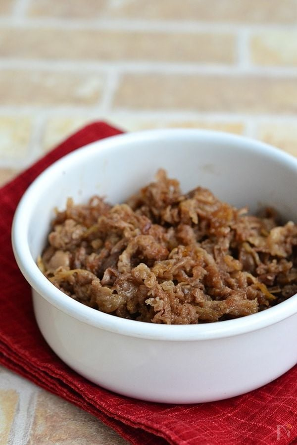 牛肉の甘辛佃煮