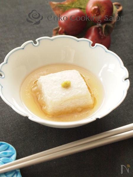 胡麻豆腐の揚げ出し