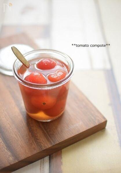 トマトのはちみつコンポート